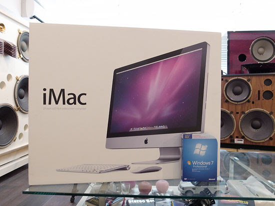 New iMac and Windows 7 OS