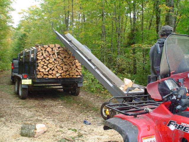 Backyard Plan Idea Buy Build Firewood Conveyor