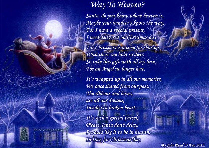 Way To Heaven Holiday Poems