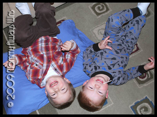 boys on floor
