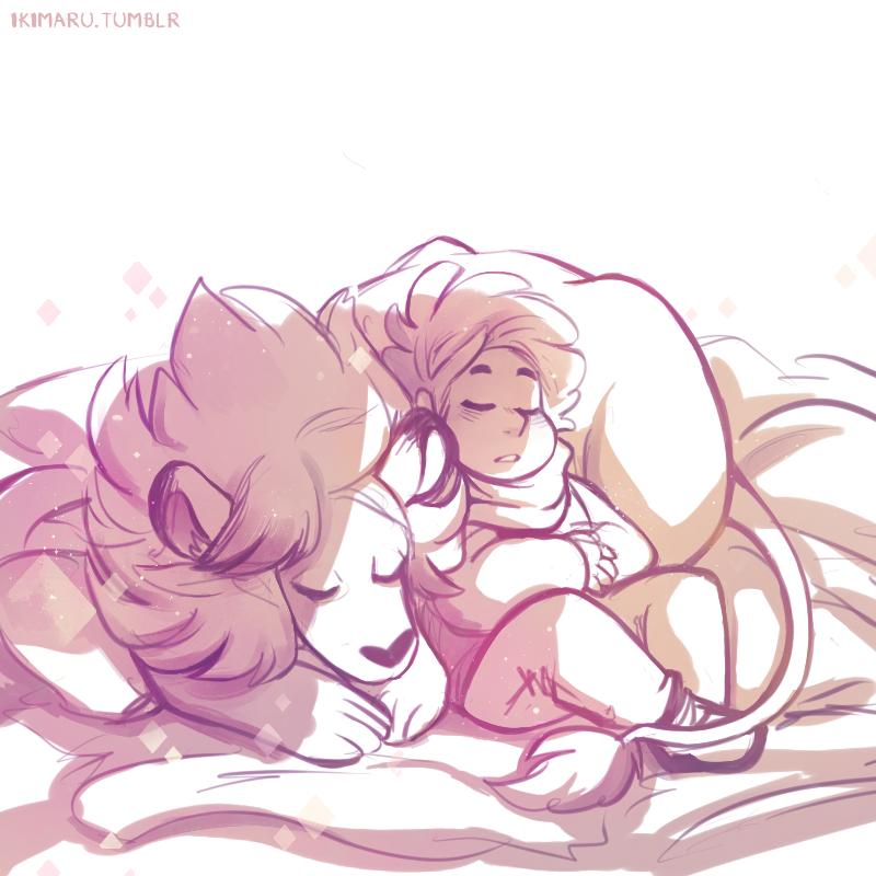 naps with lionn