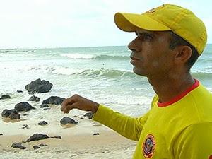 Bombeiros suspenderam as buscas às 17h (Foto: Reprodução/Inter TV Cabugi)