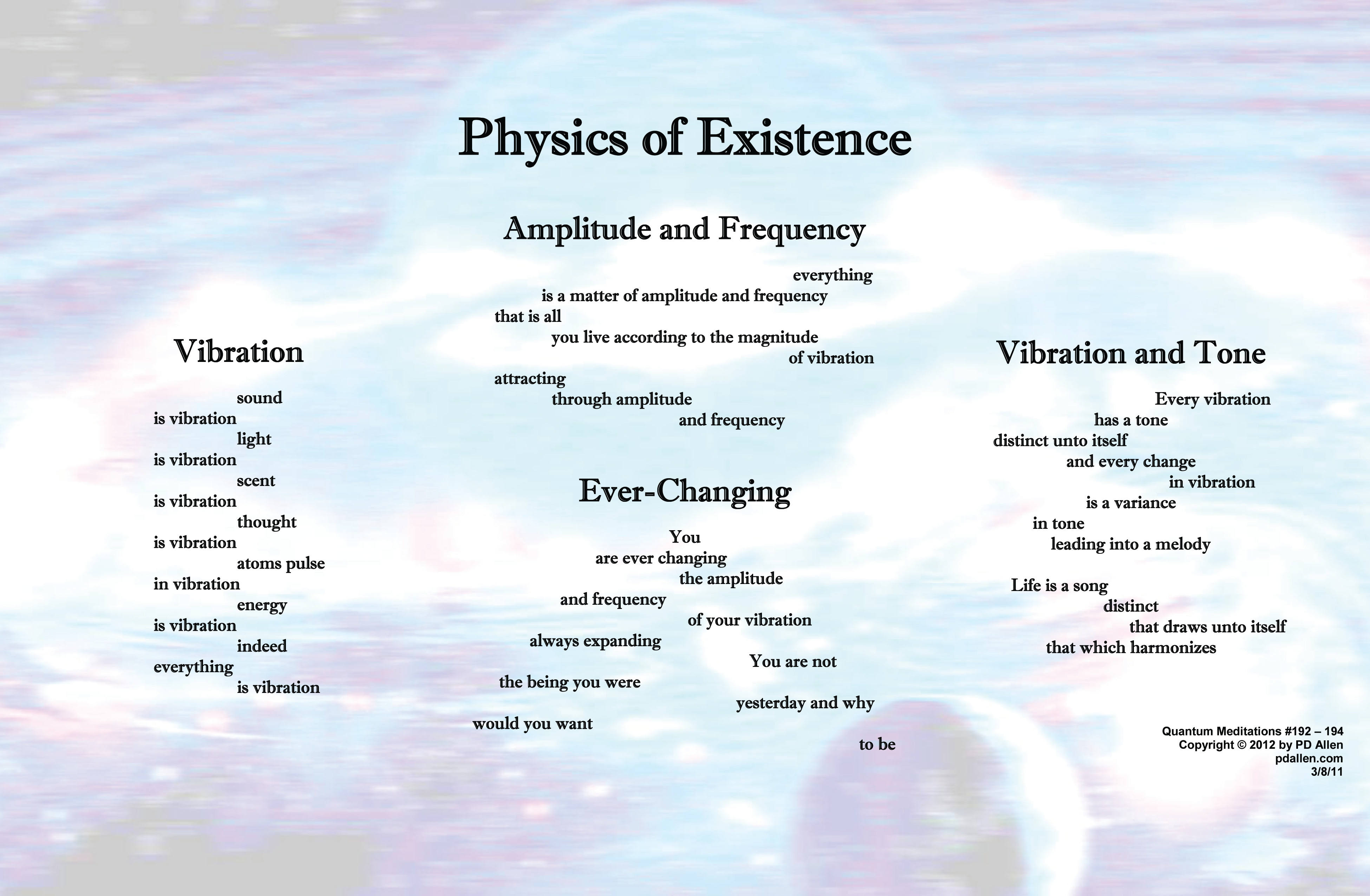 vibration and frequency