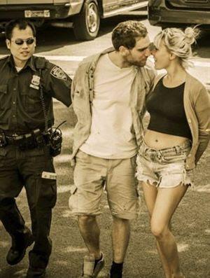 Último beijo antes da cadeia
