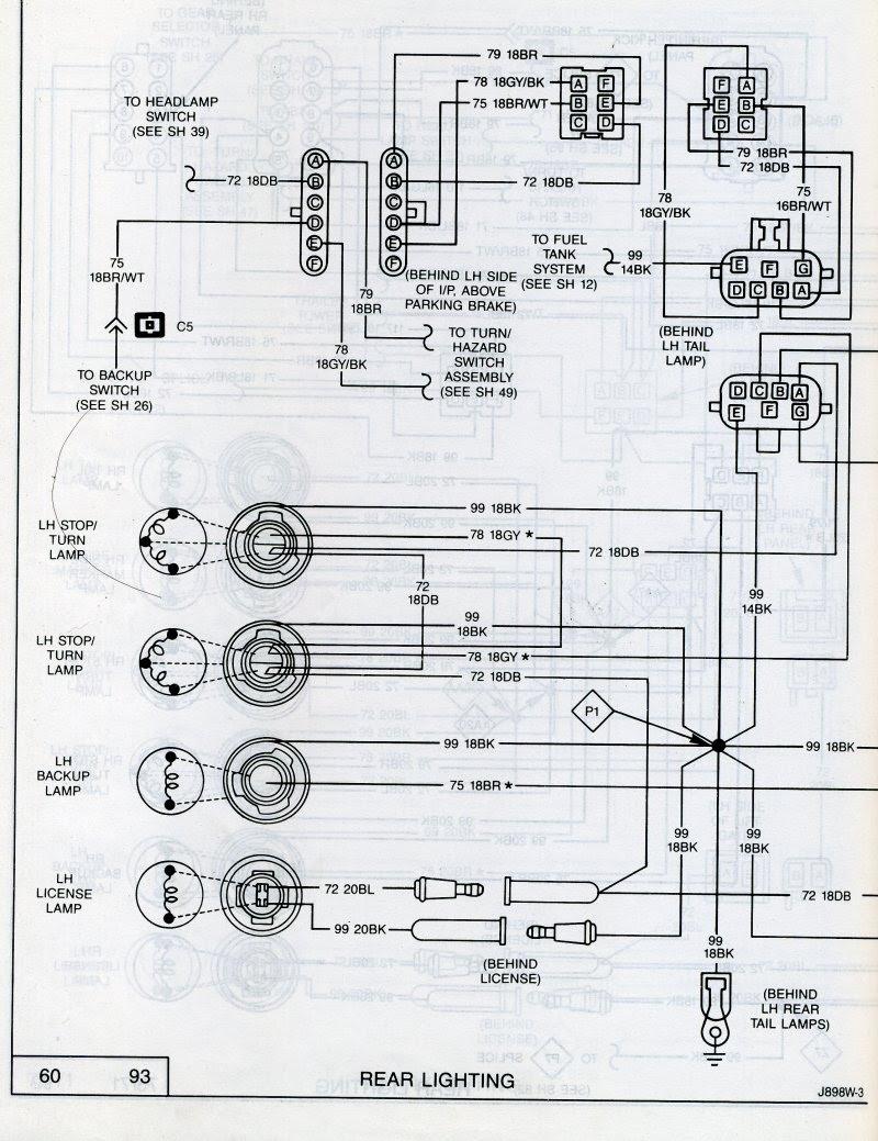 Back Light Wire Diagram