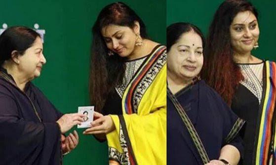 Namitha, Jayalalitha,