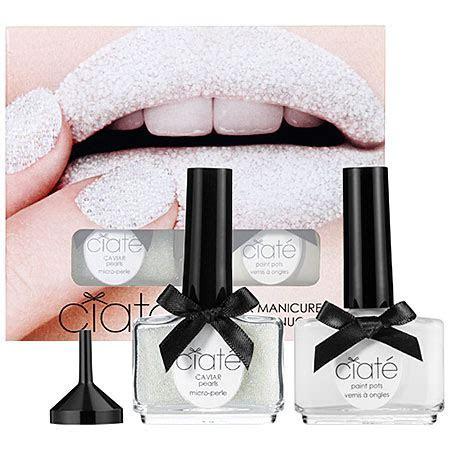 Caviar Dreams: Ciaté Caviar Manicure?