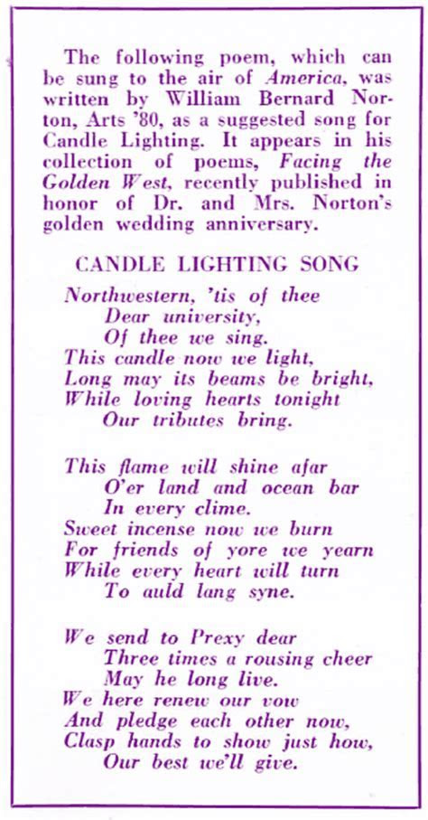 100th Anniversary of Candle Tradition   HailToPurple.com