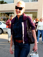 Katherine Heigl wearing Level 99 Jeans