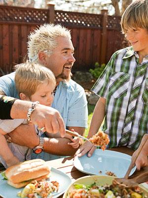 Fans of Guy Fieri: Guy's Big Bite backyard barbecue recipes