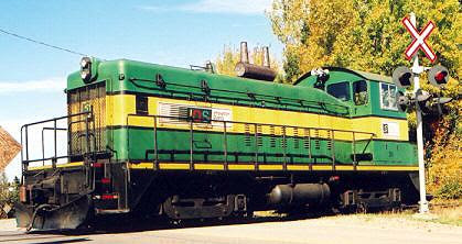 Smurfit-Stone's locomotive, Bathurst