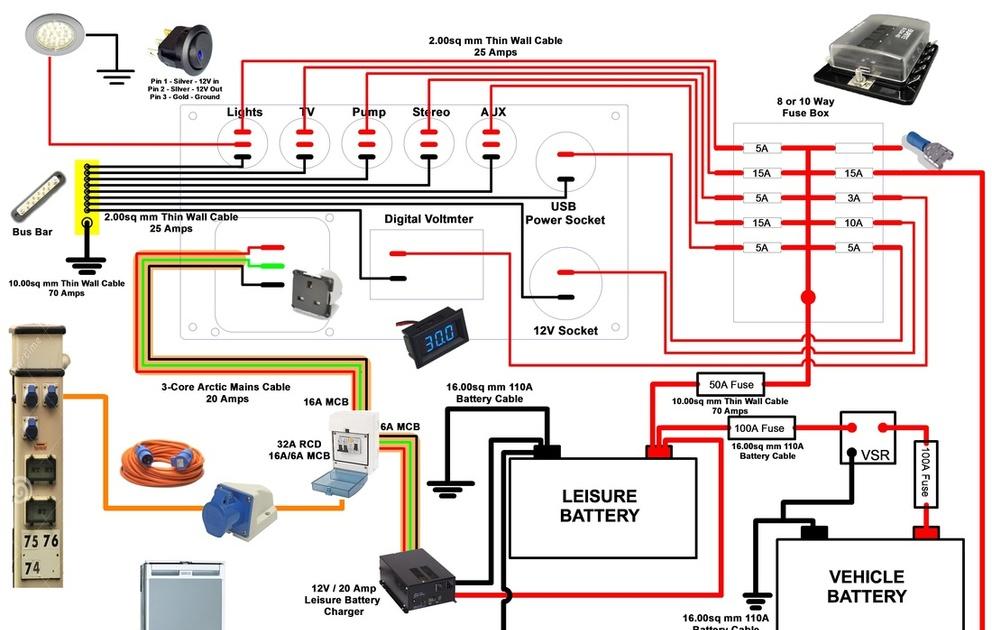 Winnebago Wiring Schematic