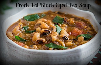 Crock Pot Black Eyed Pea Soup