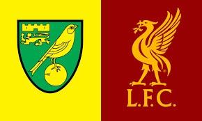 Norwich Vs Liverpool Carabao Cup 21/09/21 7:45pm