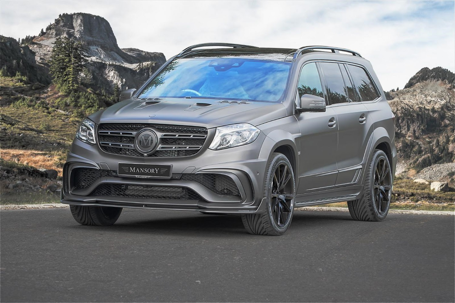 This 840-horsepower Mercedes is what Batman would take his ...