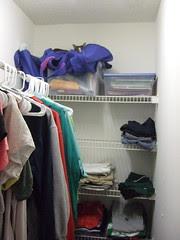Mitch in the closet