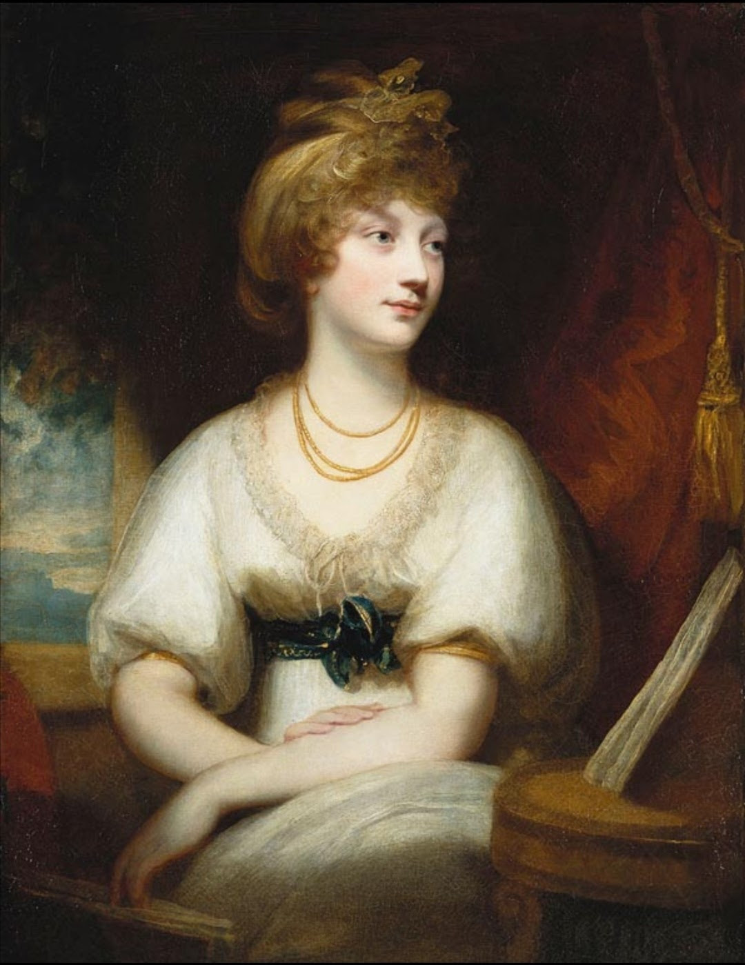 Portrait of Princess Amelia (1783-1810), 1797