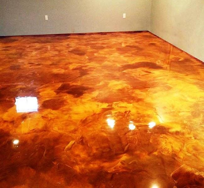 Stone Medic Marble Terrazzo Tile And Grout Using Metallic Epoxy Create Designer