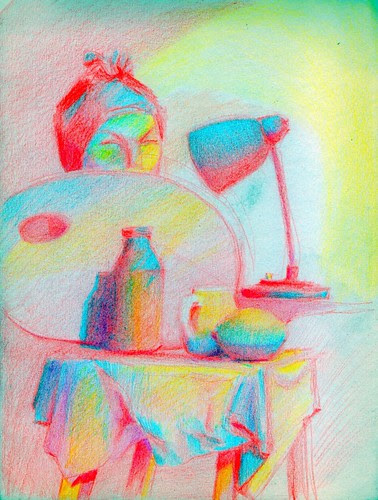 still life by dibujandoarte