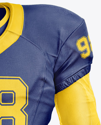 Download American Football Uniform Mockup Psd Free Download