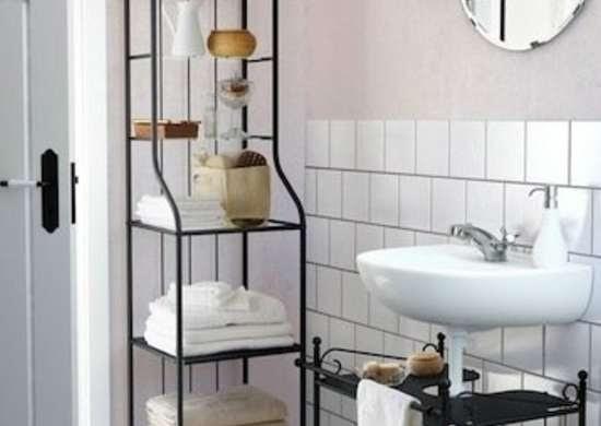 Ideas For Bathroom Shelf Small Photos