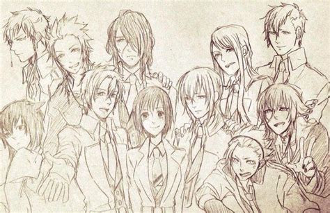 kamigami  asobi group drawing anime fan art kamigami