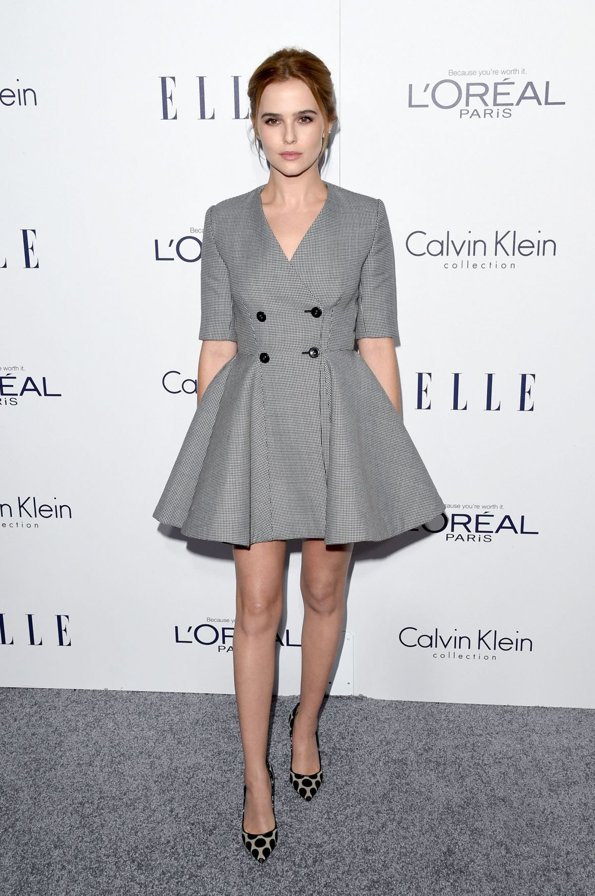 ZOEY DEUTCH at 2015 Elle Women in Hollywood Awards in Los Angeles 10/19/2015