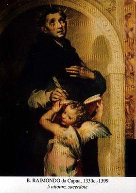 Bienheureux Raymond de Capoue. Maître général de l'ordre dominicain († 1399)