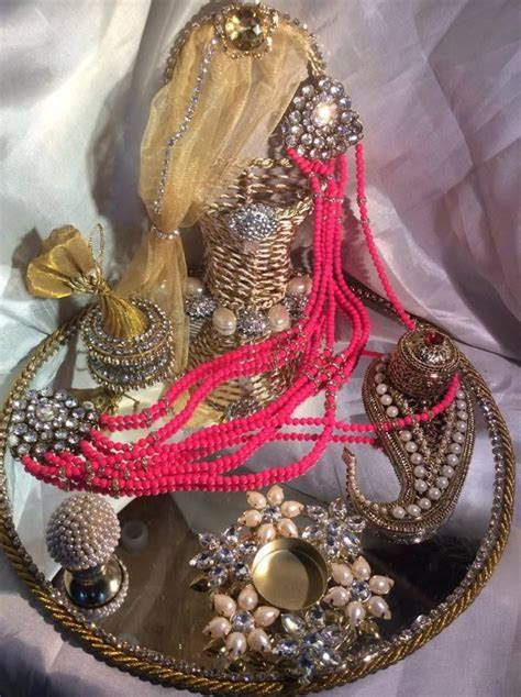 Tilak Ceremony Tikka Platter   Gift and Trousseau Packing
