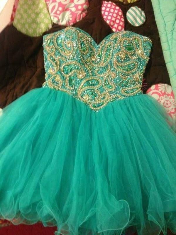 Green evening dress ebay