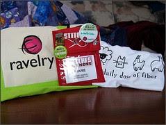 Ravelry and Stitches stuff
