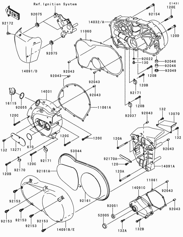 Recambios Kawasaki   CRUISER - VN900 CLASSIC - 2012 ...