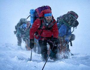 Jason Clarke plays a mountain hiker on the world's tallest peak in EVEREST.