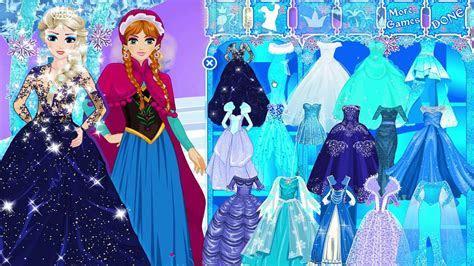 Frozen Make Up Games Anna And Elsa   Saubhaya Makeup