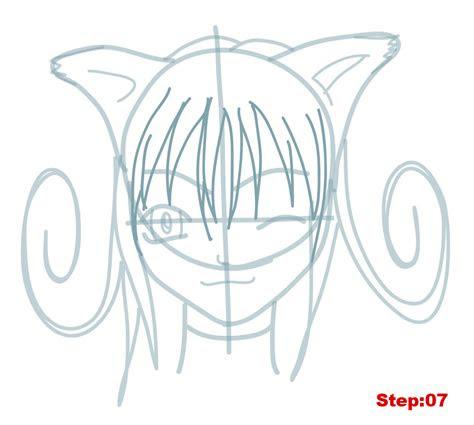 draw anime hair step  step  beginners