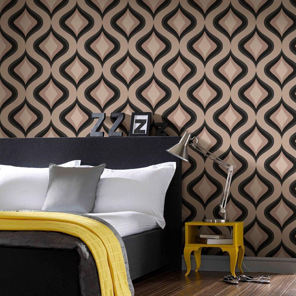 graham and brown wallpaper home depot wallpaper home. Black Bedroom Furniture Sets. Home Design Ideas