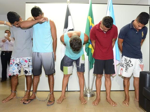 Grupo é suspeito de furtar veículos e casas no Espírito Santo (Foto: Bernardo Coutinho/ A Gazeta)