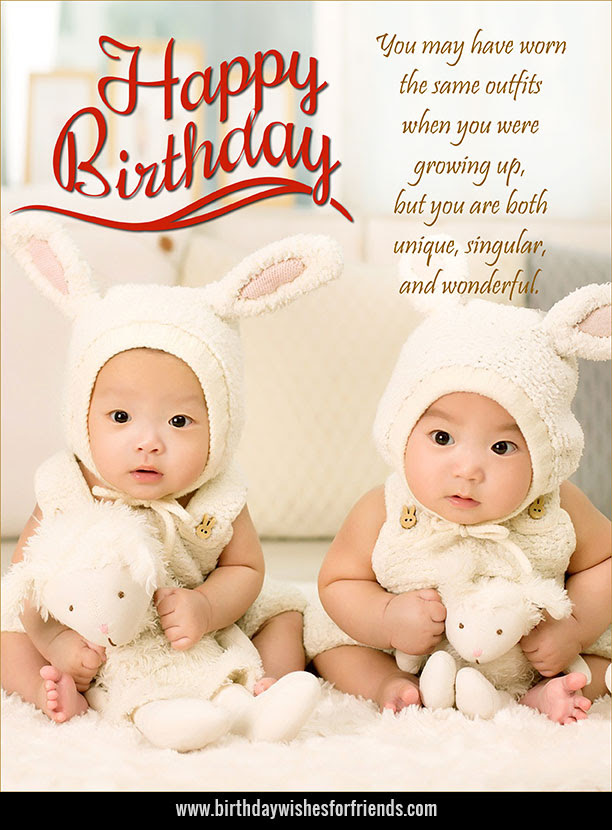 Twins Archives Birthday Wishes For Friends Family
