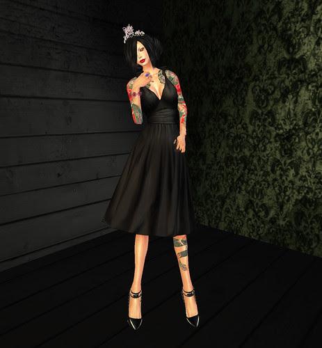 princess like in black