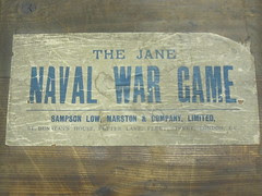 2011-33 -1 Naval War Game. Jane. Label
