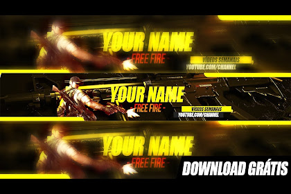 20+ Latest Banner Capa De Free Fire Para Youtube 2048x1152