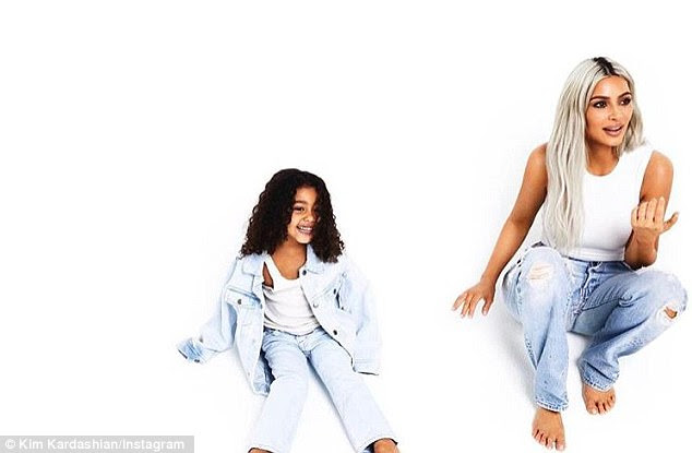 Big sister! North is looking forward to becoming a big sister once again in the next few days when Kim and Kanye's surrogate gives birth to their third child