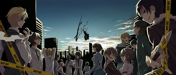 Durarara Anime Endings (ED)