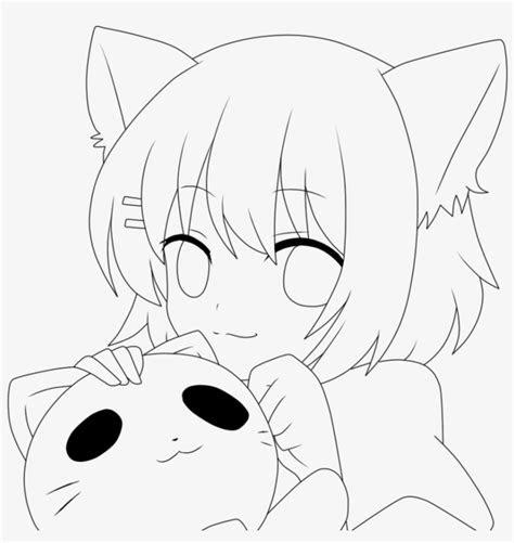 maid drawing neko anime drawings  color  png