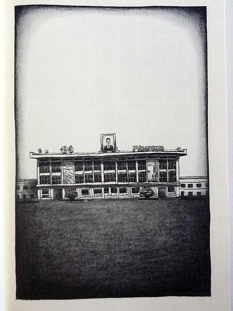 Viñeta de Pyongyang - La primera del libro