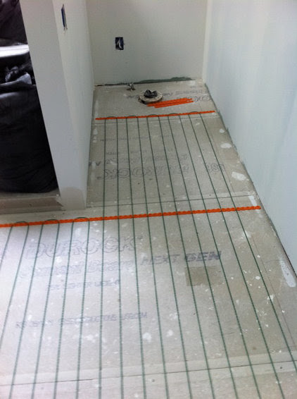 Put Some Heat in the Bathroom with Heated Floors