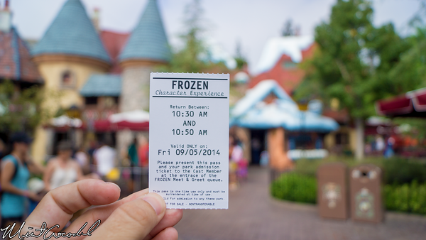 Disneyland Resort, Disneyland, Fantasyland, Frozen, Meet and Greet, FastPass