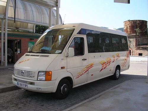 Autobus de l'empresa TRANSPORTS MIR de Ripoll (Girona)