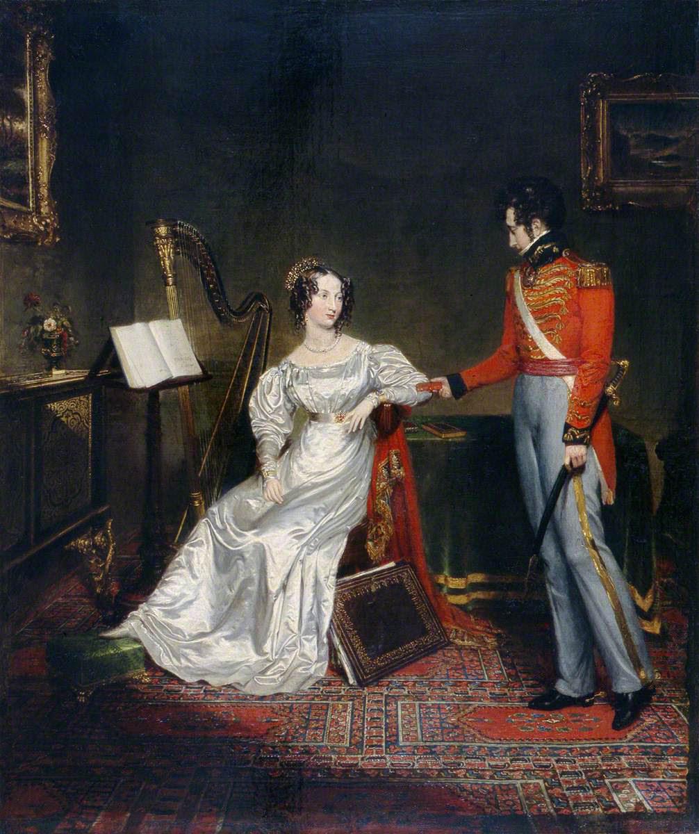 Risultati immagini per leopold of saxe coburg and princess charlotte