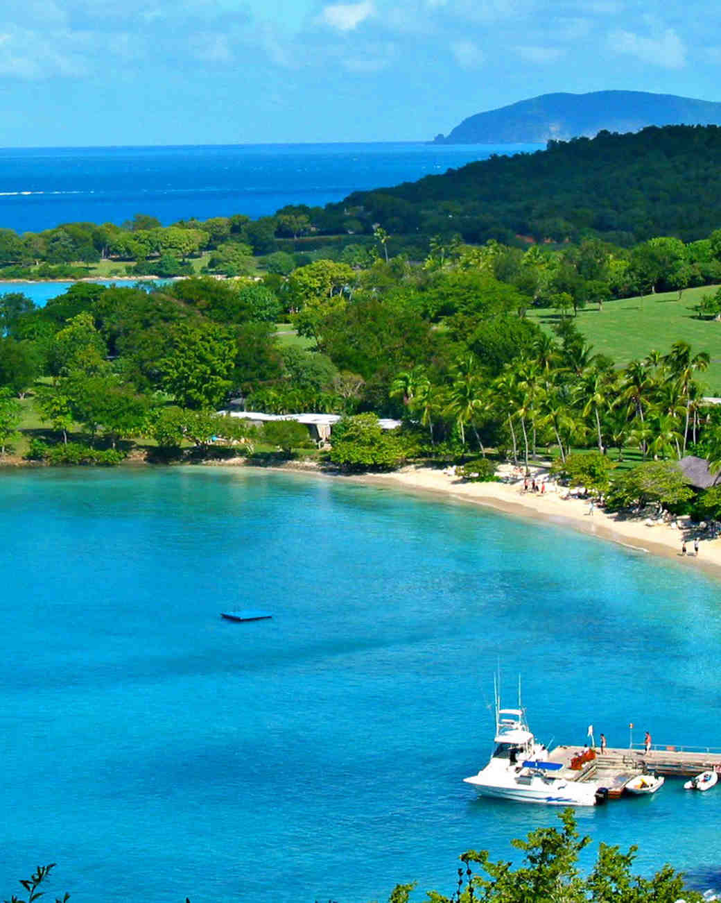 The Most Romantic Caribbean Islands  Martha Stewart Weddings